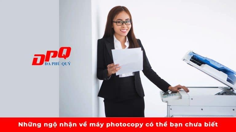 Những ngộ nhận về máy photocopy có thể bạn chưa biết