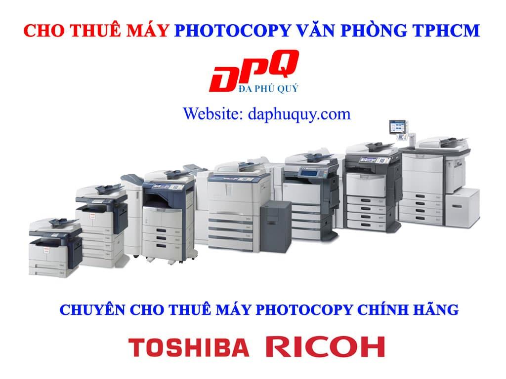Cho thuê máy photocopy văn phòng TPHCM