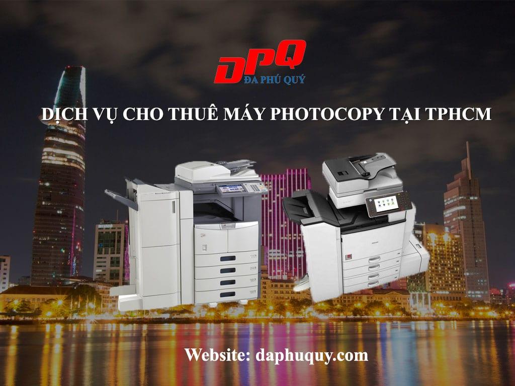 Dịch vụ cho thuê máy photocopy tại TpHCM