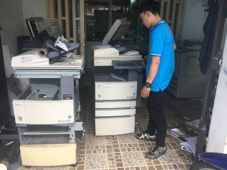 Dịch vụ sửa chửa máy Photocopy Tại TP.HCM