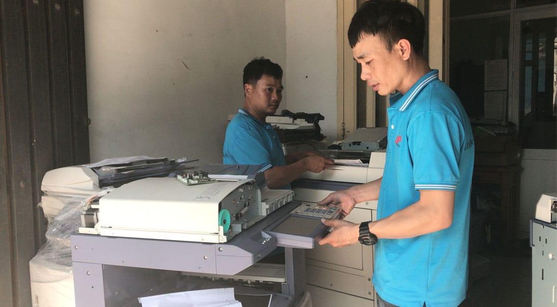 Cho thuê máy photocopy giá rẻ tại TpHCM