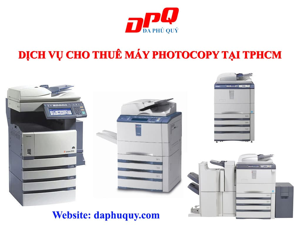 Cho thuê máy photocopy uy tín tại HCM