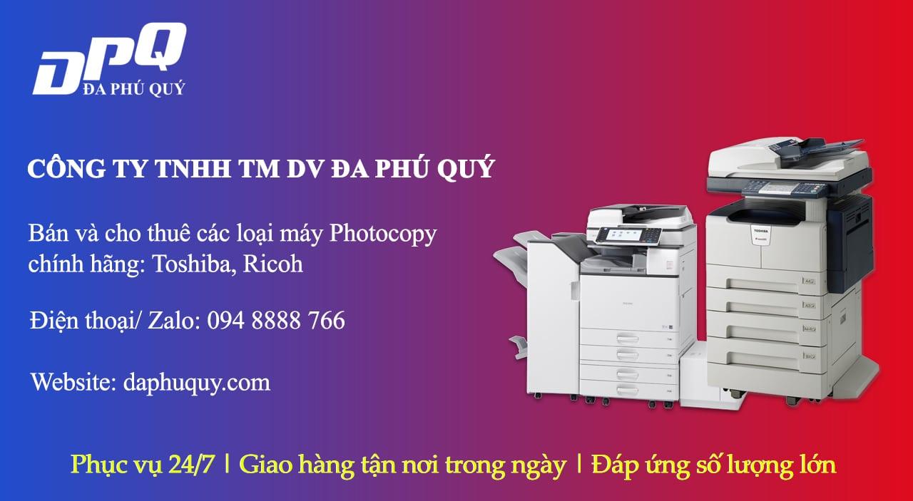 Tại sao bạn nên chọn dịch vụ cho thuê máy photocopy tại Đa Phú Quý