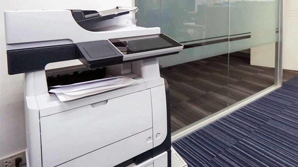 Máy photocopy bị mờ chữ