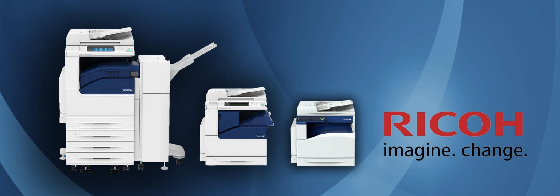 Giới thiệu dòng máy photocopy Ricoh