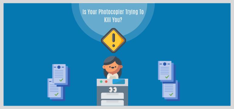 Máy photocopy gây hại như thế nào cho sức khỏe | Đa Phú Quý