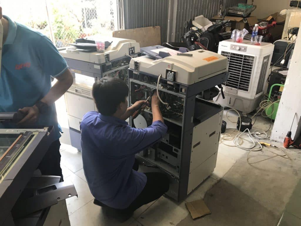 Tháo máy photocopy