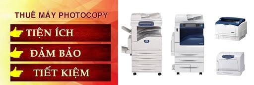 Dịch vụ cho thuê máy photocopy tại Bình Thạnh