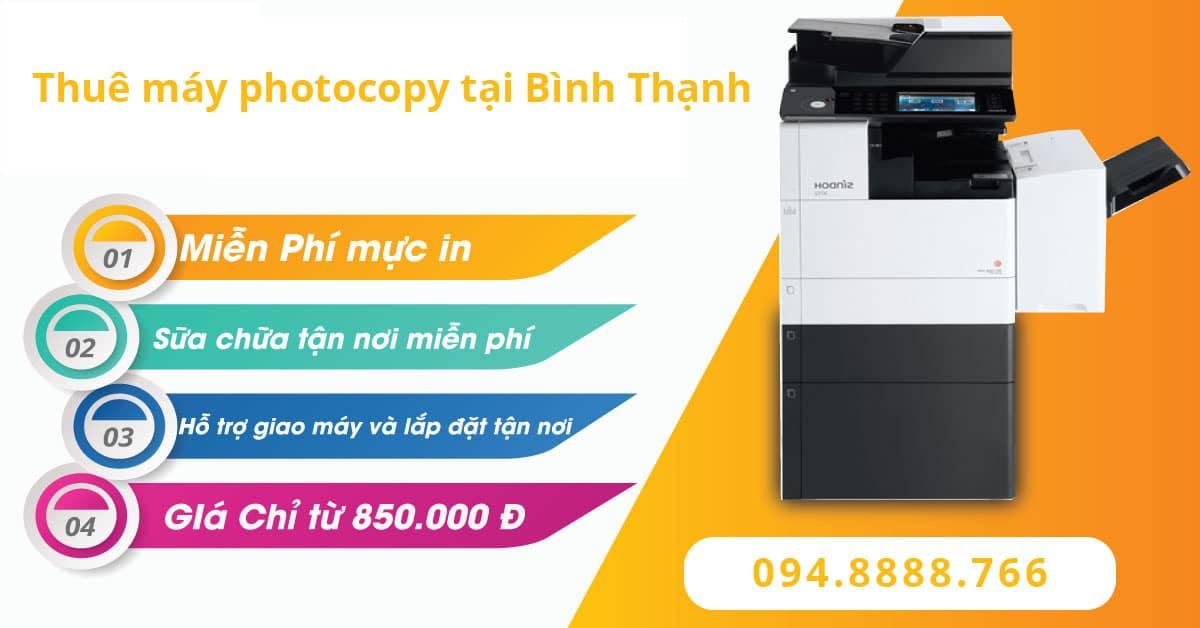 Thuê máy photocopy tại Bình Thạnh