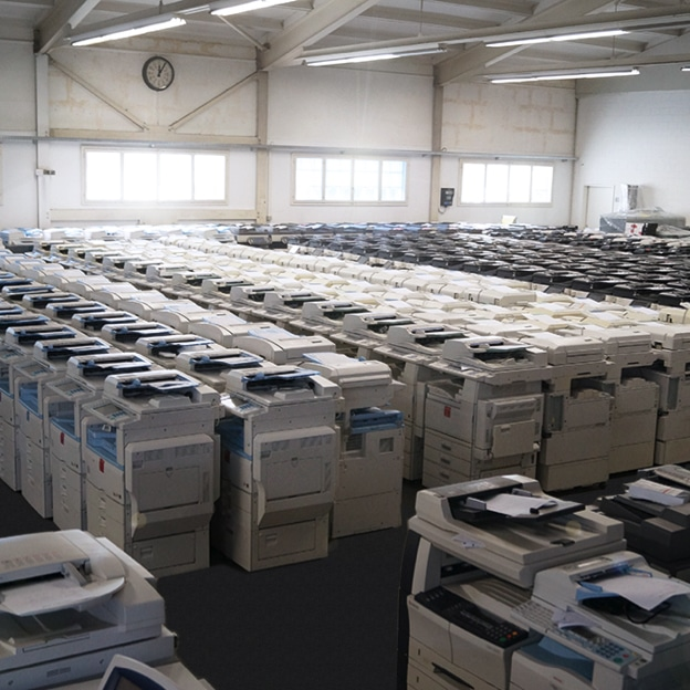 Kho máy photocopy cũ giá rẻ