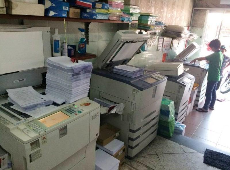 Mở cửa hàng photocopy