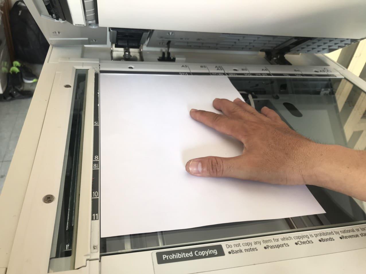 Hướng dẫn sử dụng máy photocopy Ricoh để photo tài liệu