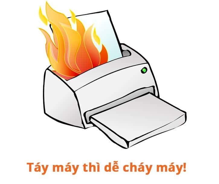 Những thói quen cần tránh khi sử dụng máy photocopy