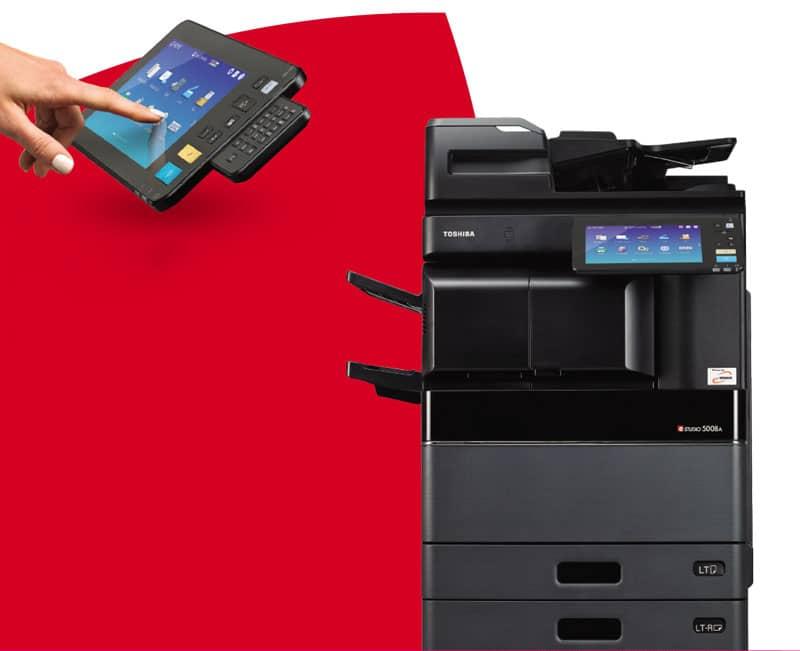 tính năng vượt trội của máy photocopy Toshiba E-studio 5008A