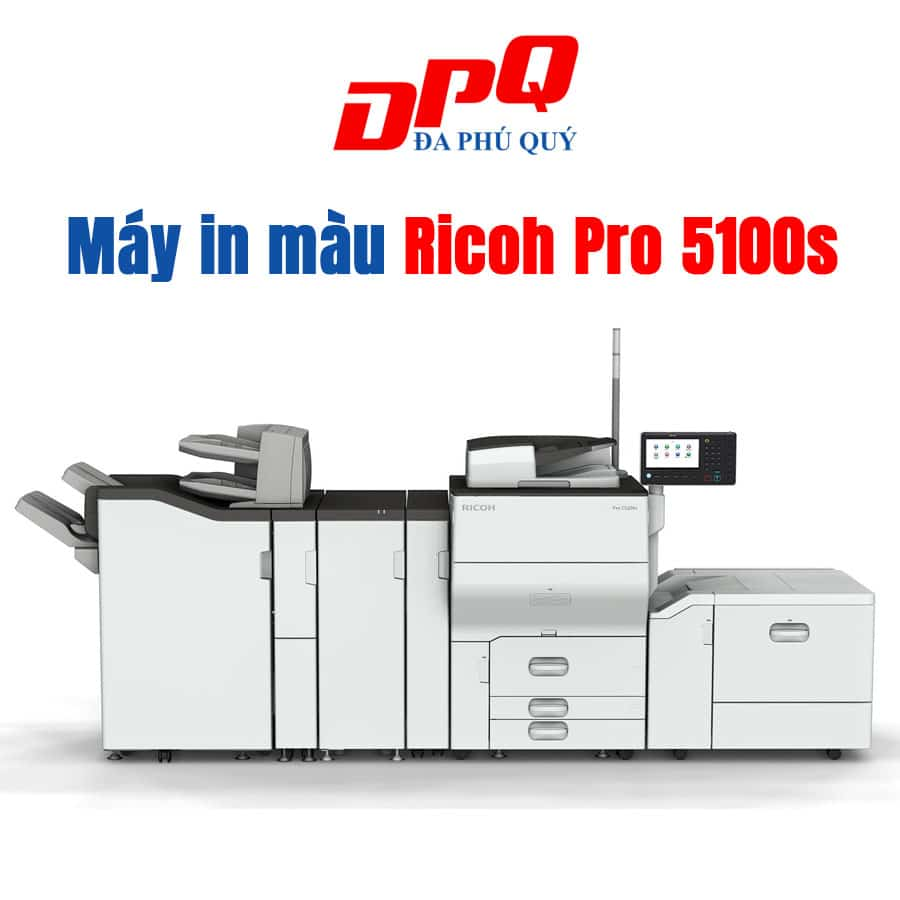 Bán máy in màu Ricoh Pro C5100s