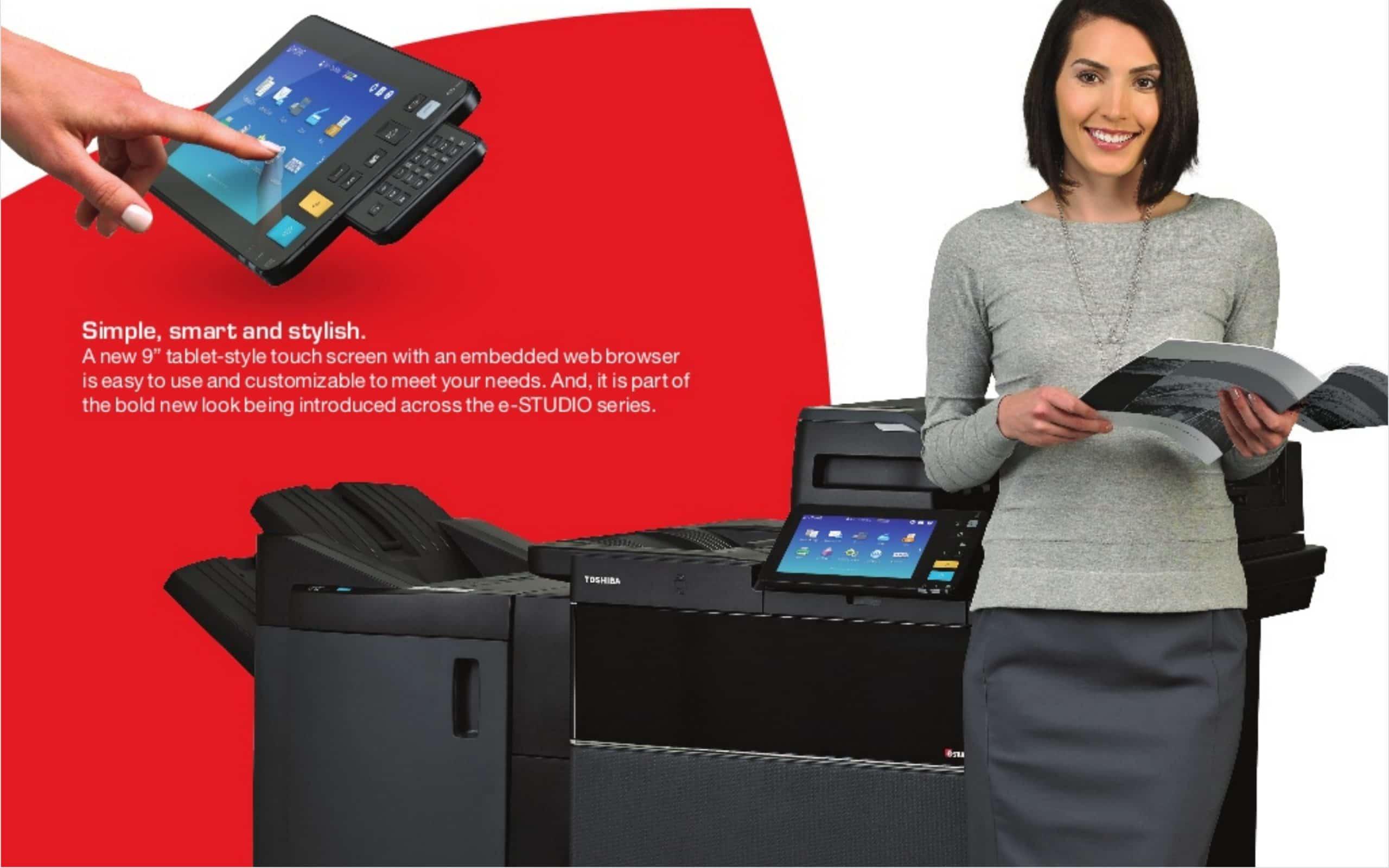 Giới thiệu máy photocopy siêu tốc Toshiba 6508A
