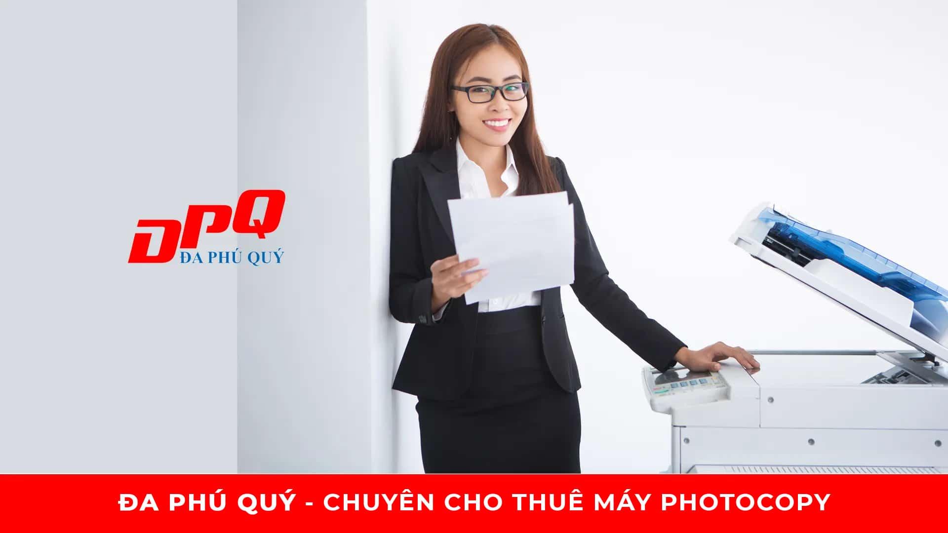 Cho thuê máy photocopy Toshiba, Ricoh giá rẻ tại TPHCM