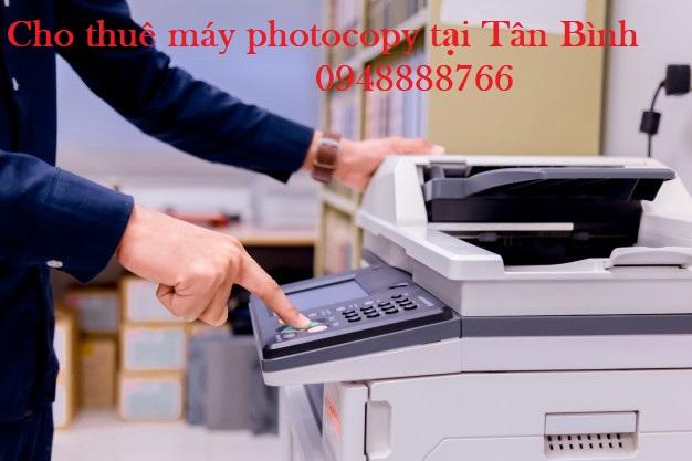 cho thuê máy photocopy tại tân bình