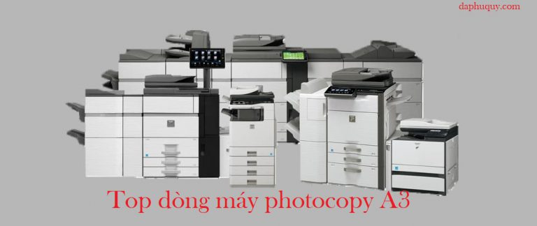 Top dòng máy photocopy A3