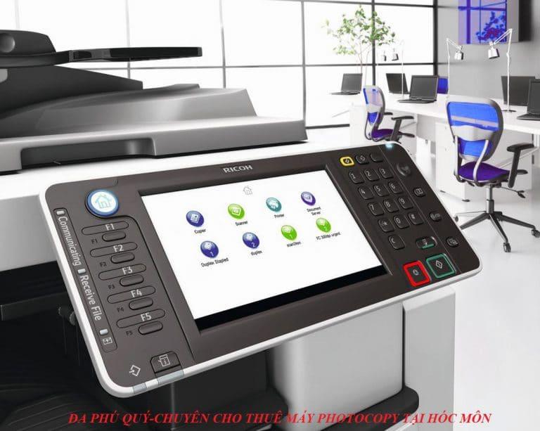 cho thuê máy photocopy tại hóc môn