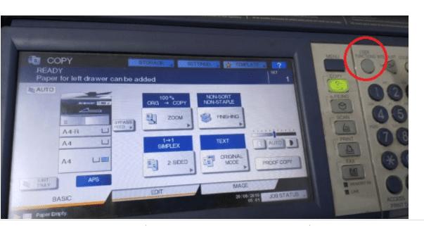 Cách cài IP trên máy photocopy Toshiba
