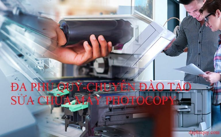 chuyên đào tạo sửa chữa máy photocopy