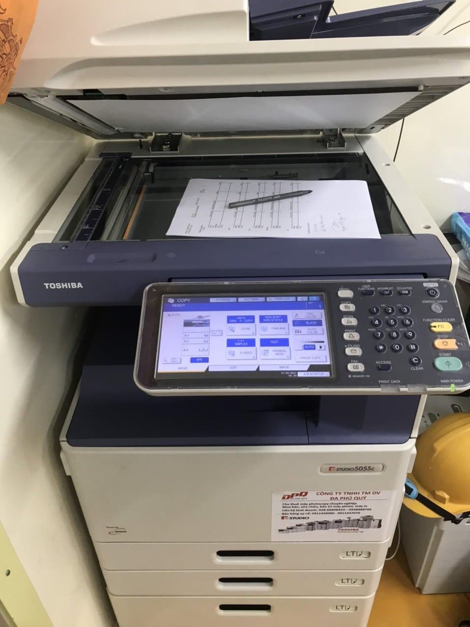 Cho thuê máy photocopy tại Long Thành