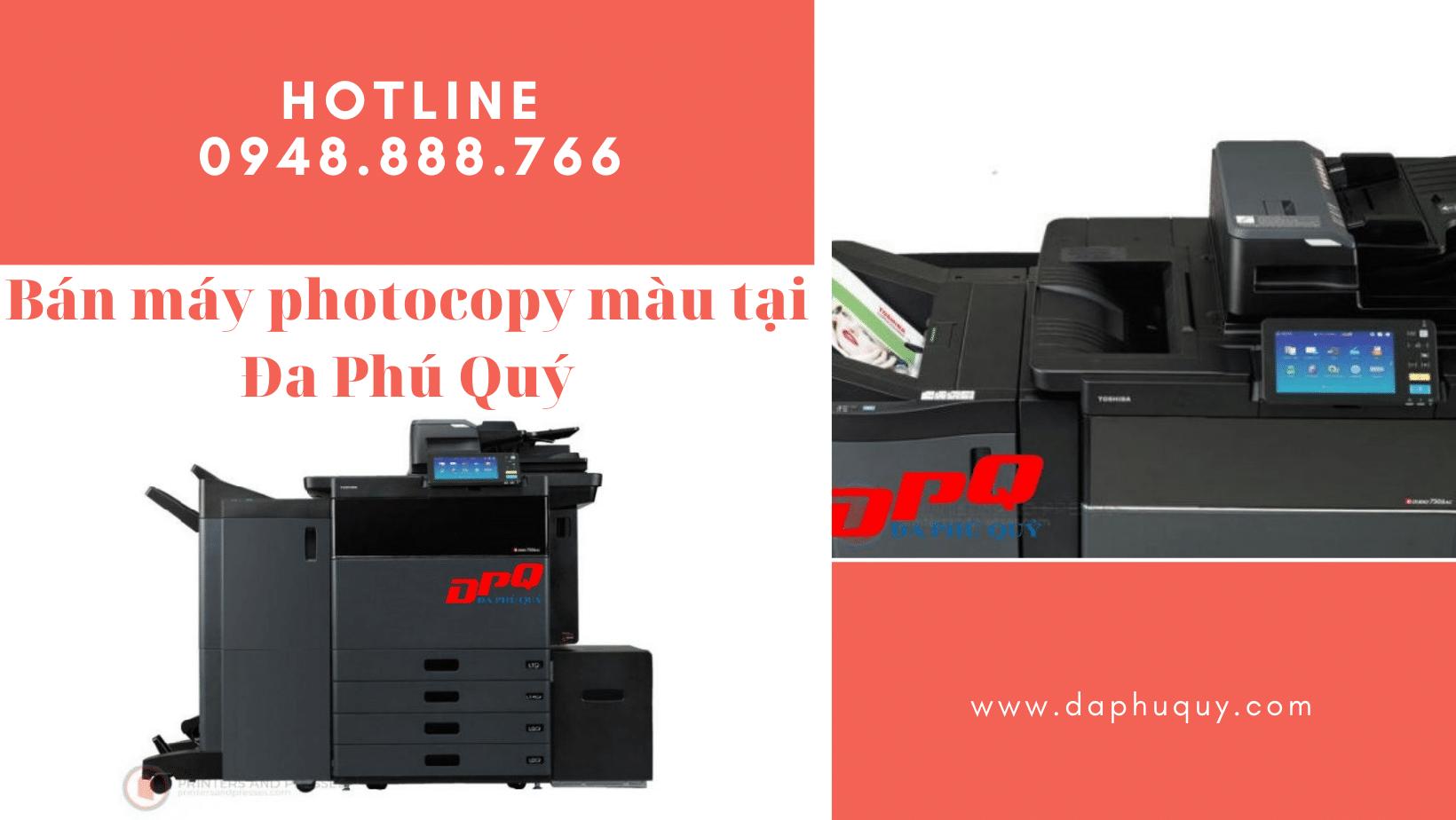 Bán máy photocopy màu