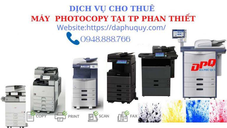 cho thuê máy photocopy tại tp phan thiết