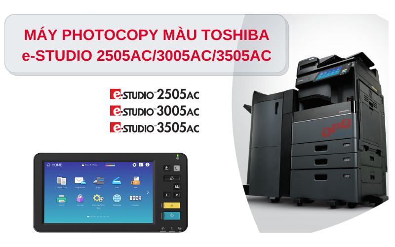 Máy photocopy Toshiba E-studio 3005AC
