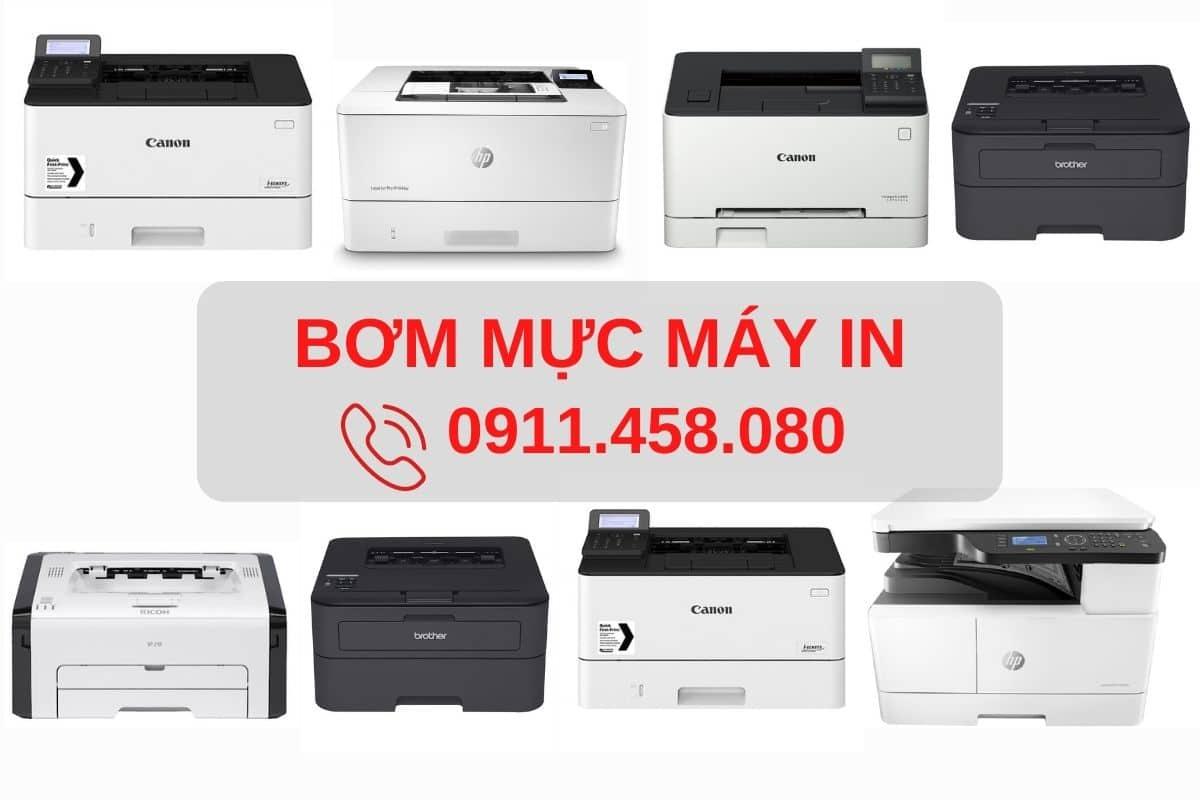 Bơm mực máy in