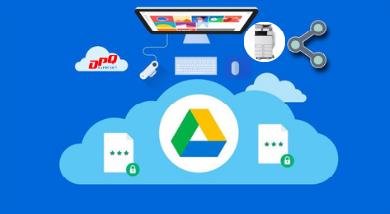 Hướng dẫn scan tài liệu bằng Google Drive và in trên điện thoại